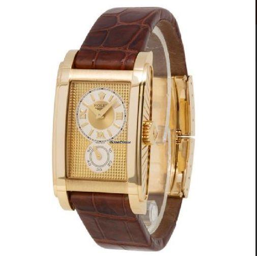 Zlate Panske Hodinky Rolex Prince Starozitnosti